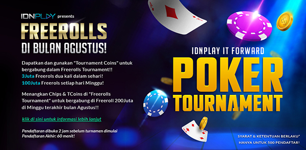 Poker Online Terbaik, Agen Poker Online, Agen Poker Terpercaya, Judi Poker Online, Tournament IDNplay
